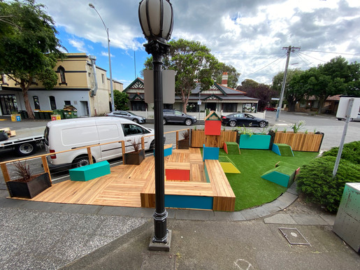 Library Parklet - Urban Space