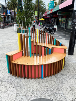 Street Furniture for Acland St