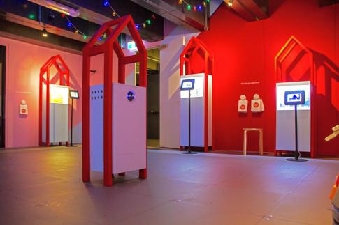 Construction of Exhibition Displays for Aardman