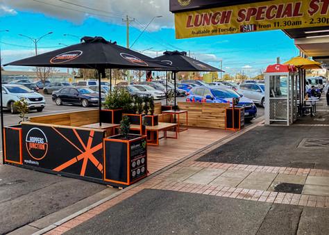 Cafe Parklet Melbourne