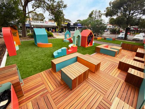 Pop-Up park in Croydon