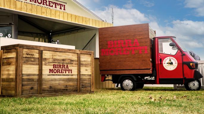 Birra Moretti Brand Activation