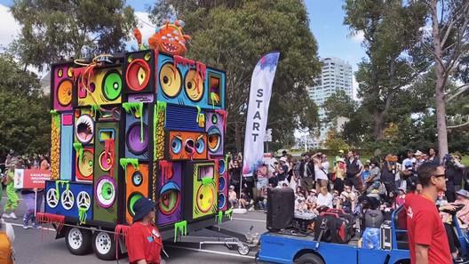 Moomba Monster Disco Float