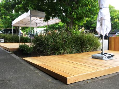Parklet Dining Deck