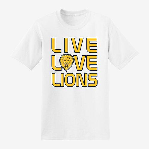 Live Love Lions-T-Shirt