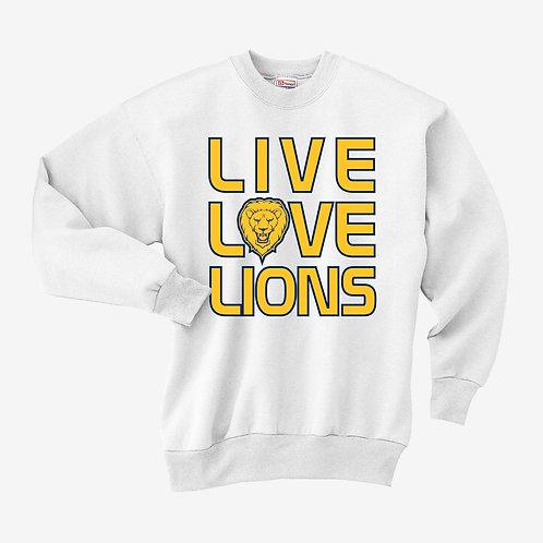 Live Love Lions Sweatshirt