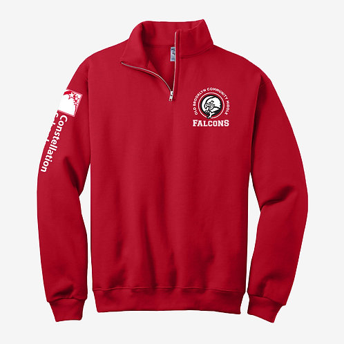 1/4 Zip Sweatshirt - Middle