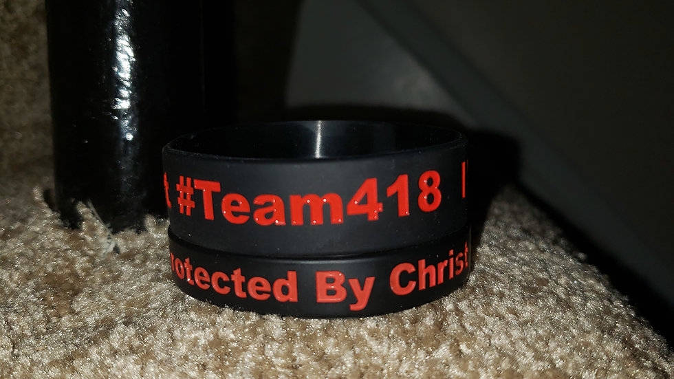 I'm Prodtected By Christ  Wristbands (10)
