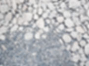 Various sized conrete aggregates