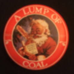 Lump of Coal Santa Gift