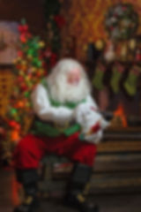 Santa Claus DW in Toy Shop