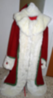 Custom Santa Suit Robe