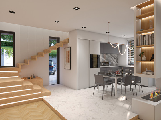 Residenziale Interno + Esterno (80 mq)