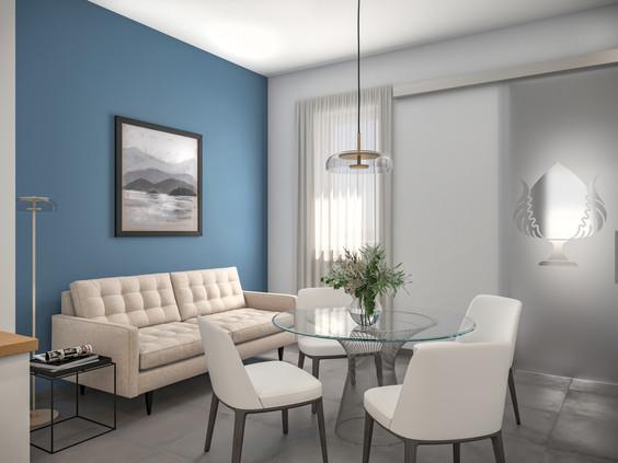 Residenziale | Interno con più ambienti differenti