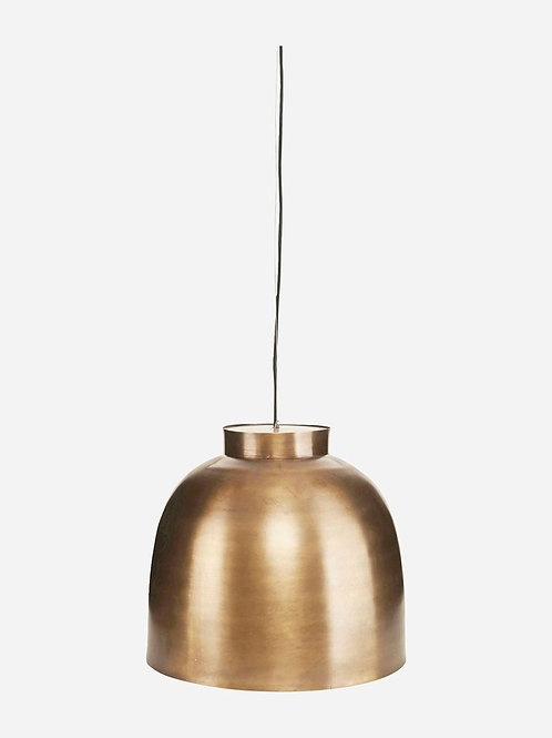 Bowl Lamp Brass by House Doctor