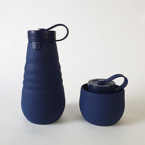 Stojo Collapsible Bottle - Denim