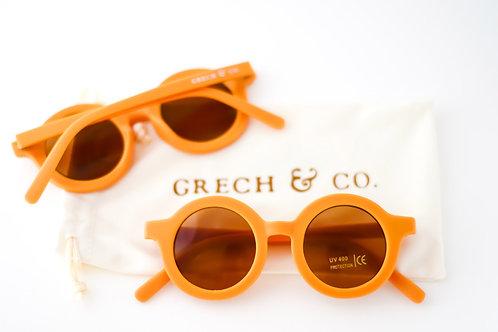 Sustainable Kids' Sunglasses: Golden