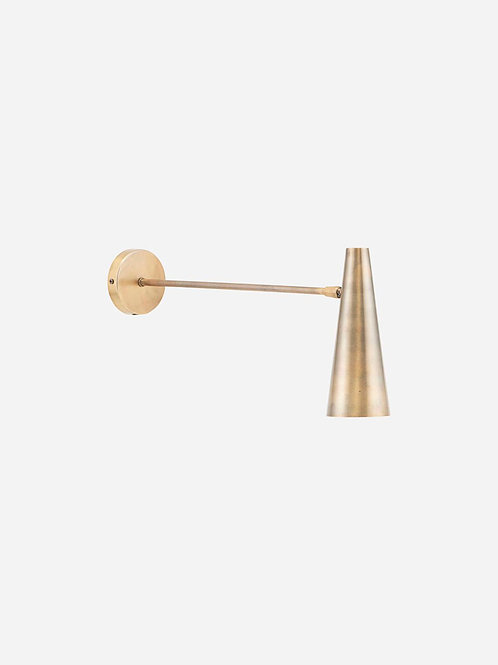 Precise Wall Lamp Brass Long by House Doctor