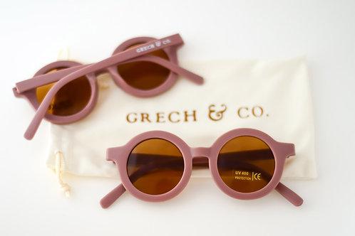 Sustainable Kids' Sunglasses: Burlwood