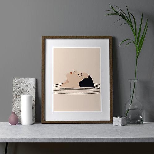 Relax Art Print by Keeler & Sidaway