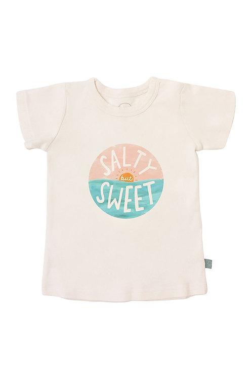 Salty But Sweet Organic Cotton Tee by Finn & Emma