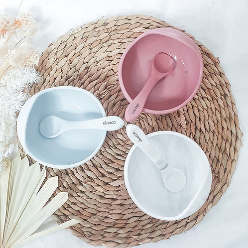 Silicone Suction Bowl Set by Mini & Boo