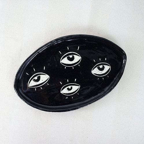 Black Eye Tray by Arina Sheremeteva
