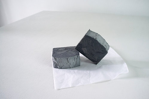 Coal Soap Bar for Hands and Body