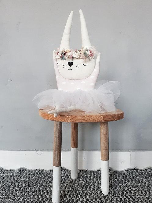 Handmade Soft Toy Ballerina Bunny