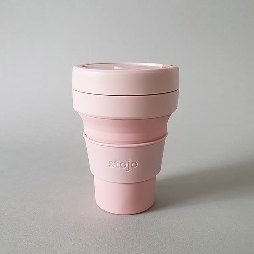 Stojo Pocket Size Cup - Carnation
