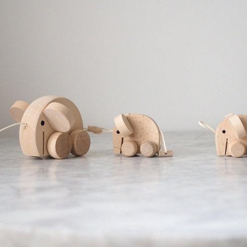 Mabel - Set of Wooden Elephants