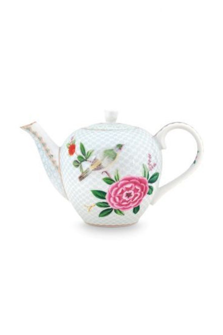Teapot Blushing Birds White 750 ml by Pip Studio