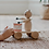Thumbnail: Dolores - Pull Along Wooden Cat With Drum