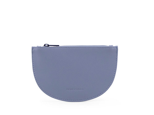 Half Moon Wallet - Faded Blue