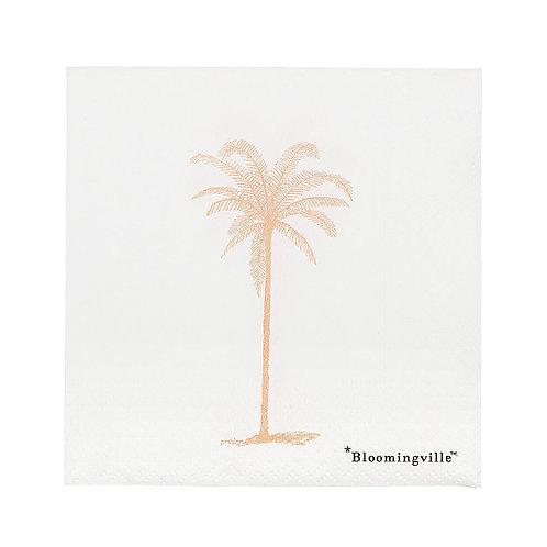 Fridolf Palm Tree Napkins, Pack of 20