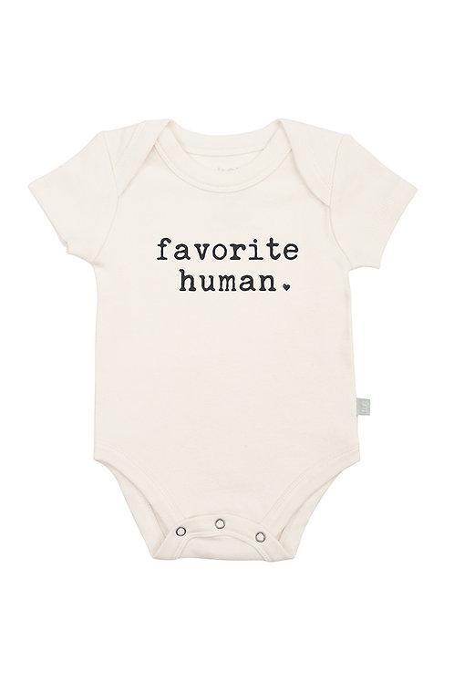 Favorite Human Organic Cotton Bodysuit by Finn & Emma