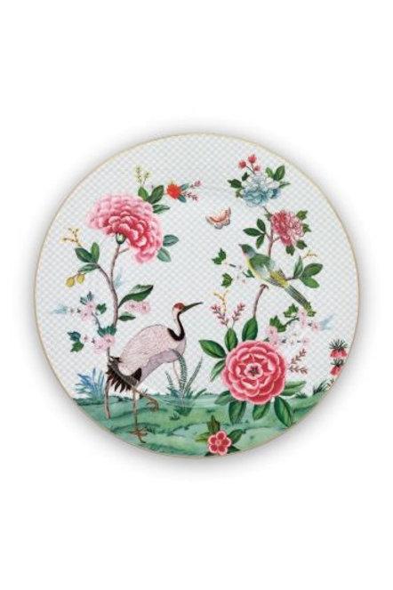 Plate Blushing Birds White 32 cm by Pip Studio