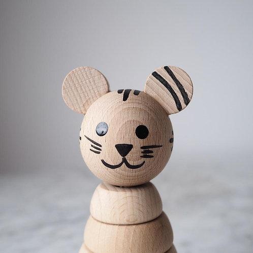 Tiger Stacking Toy