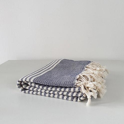 Mugla Towel: Navy