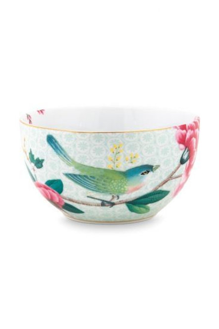 Bowl Blushing Birds White 12 cm by Pip Studio