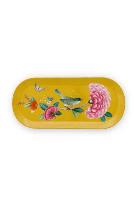 Cake Tray Blushing Birds Yellow by Pip Studio