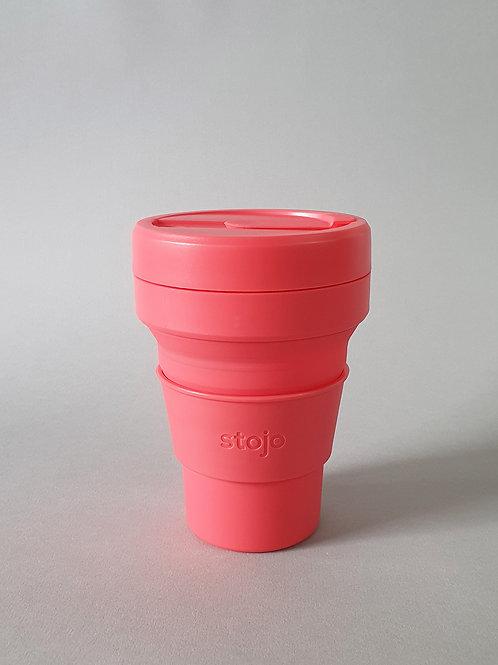 Stojo Biggie Size Cup - Coral