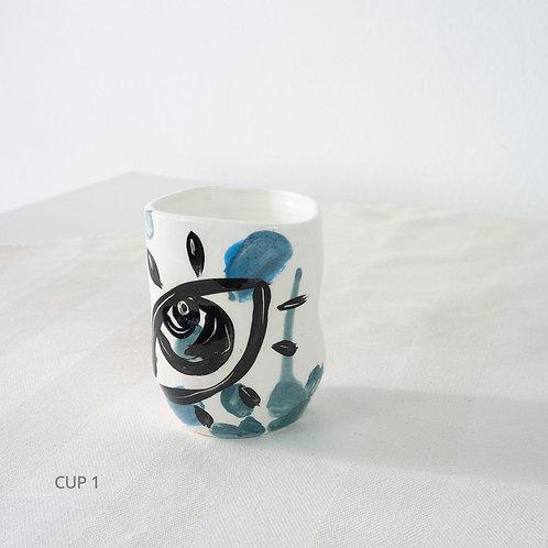 Blue Mug by Arina Sheremeteva