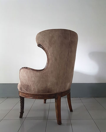 Armchair. Upholstery by designers
