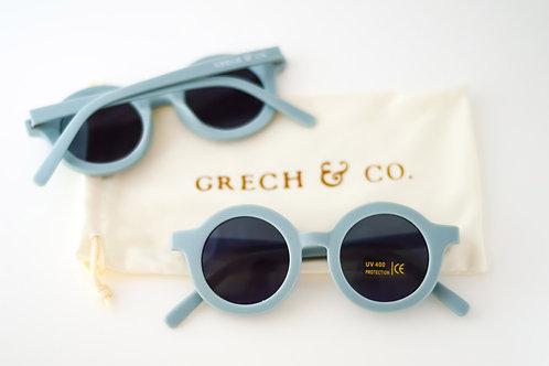 Sustainable Kids' Sunglasses: Light Blue