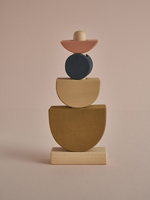 Shapes Stacking Tower
