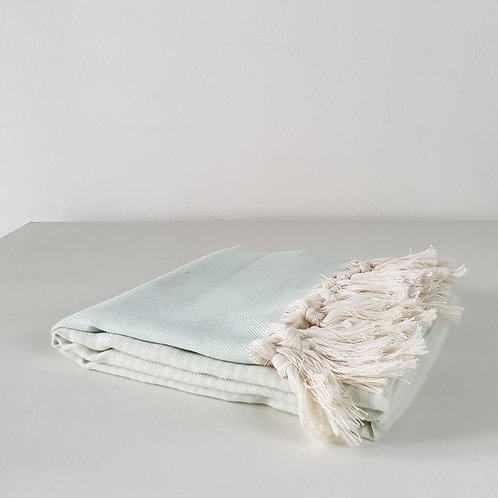 Soke Towel: Pale Mint