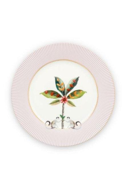 Plate La Majorelle Pink 21 cm by Pip Studio