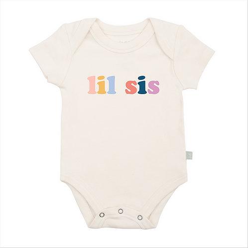 Lil Sis Organic Cotton Bodysuit by Finn & Emma