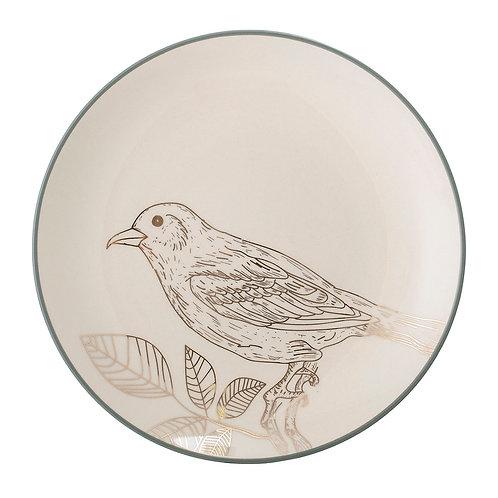 Rio Plate, Stoneware, White